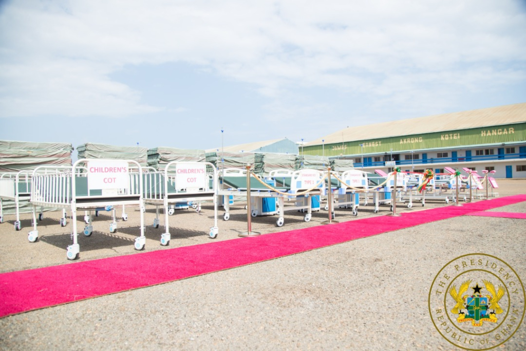 Government committed to ending no bed syndrome - Akufo-Addo
