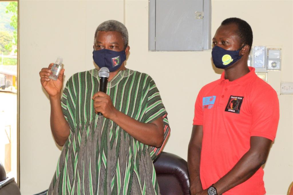 Group donates PPEs to Asogli State, Ho Municipal Hospital