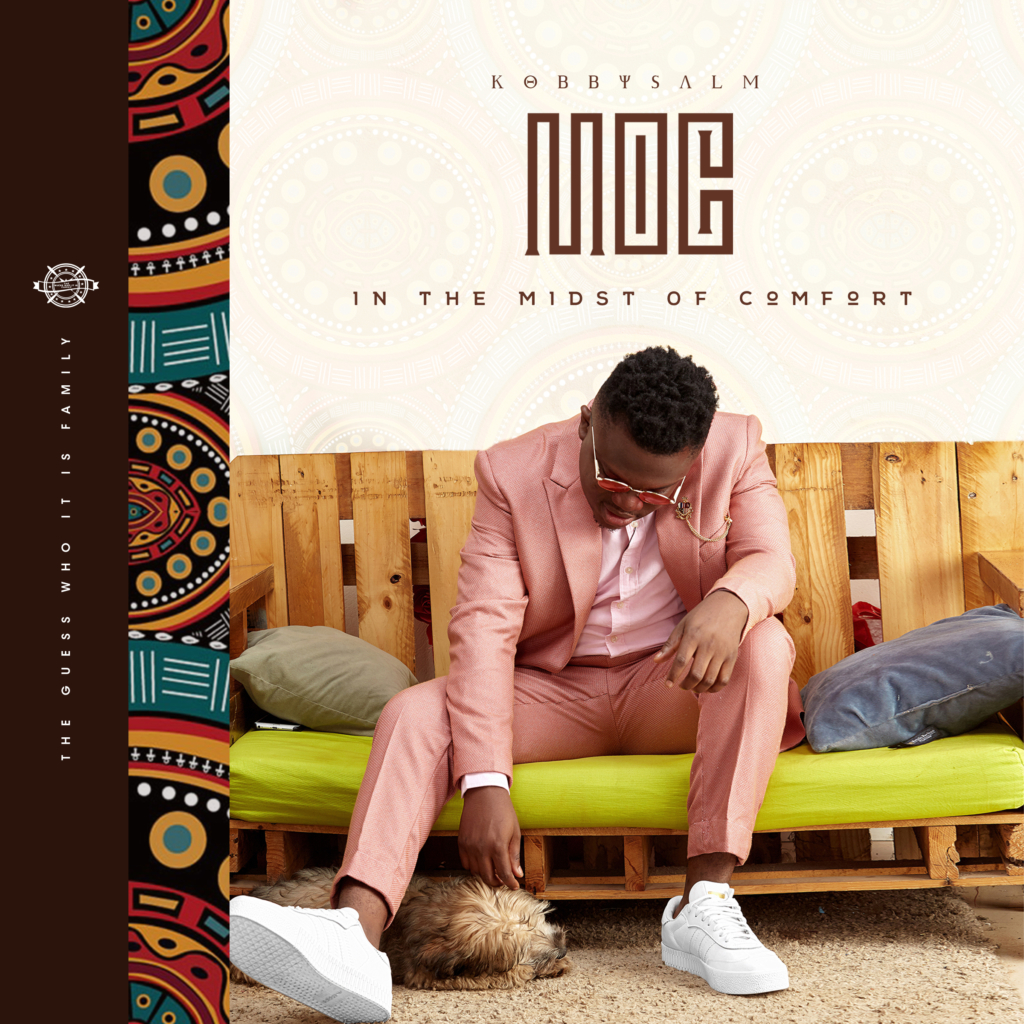 Musician KobbySalm releases 'In The Midst Of Comfort' album