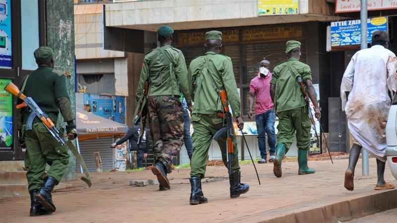 Uganda says 219 prisoners escape, some with guns and ammunition