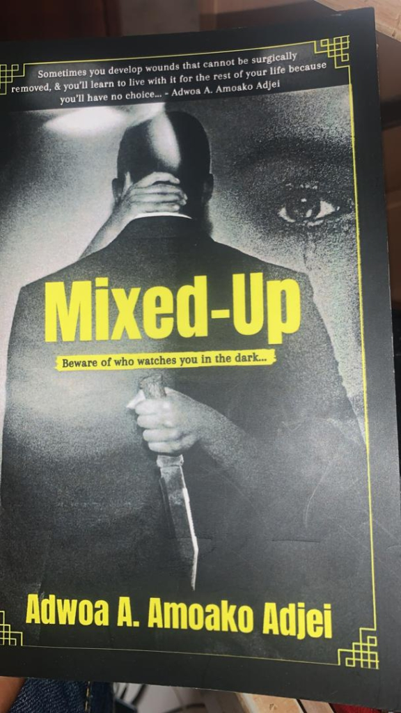 Lawyer cum writer launches a mystery-thriller novel, 'Mixed up'