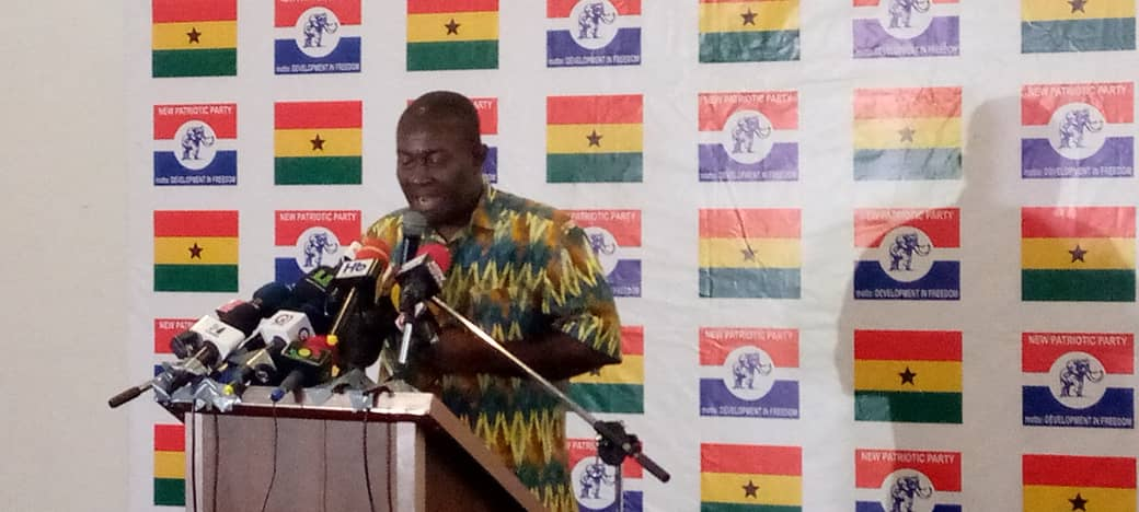 Playback: NPP holds press conference on payment of customers of defunct financial institutions