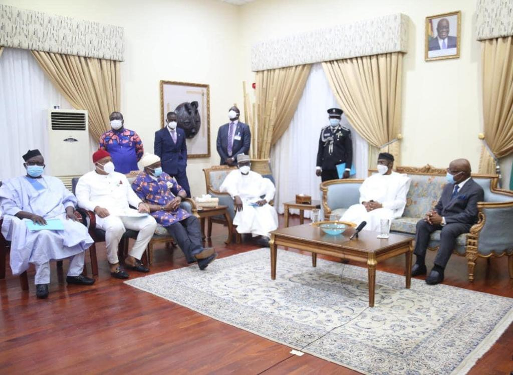 Diplomatic row: Nigerian Speaker in Ghana for a two-day visit