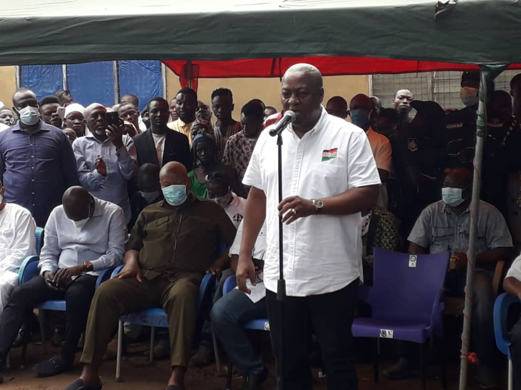 We will separate Disability Fund from District Assembly Common Fund - Mahama