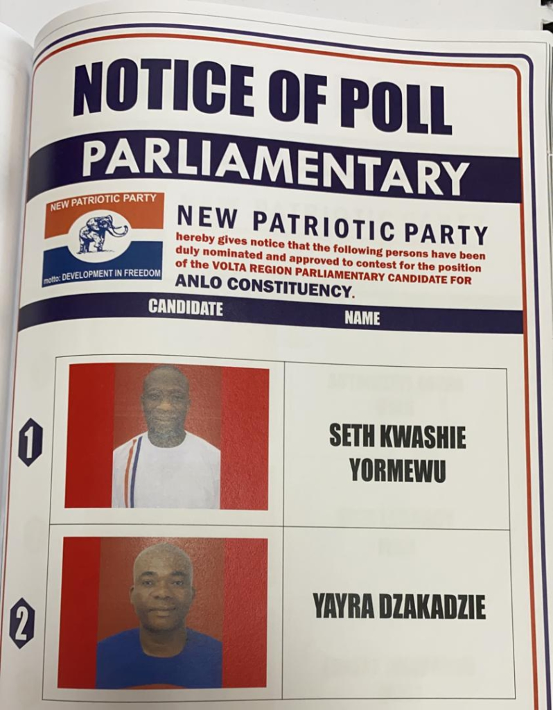 NPP acclaims Seth Kwashie Yormewu as Parliamentary Candidate for Anlo Constituency