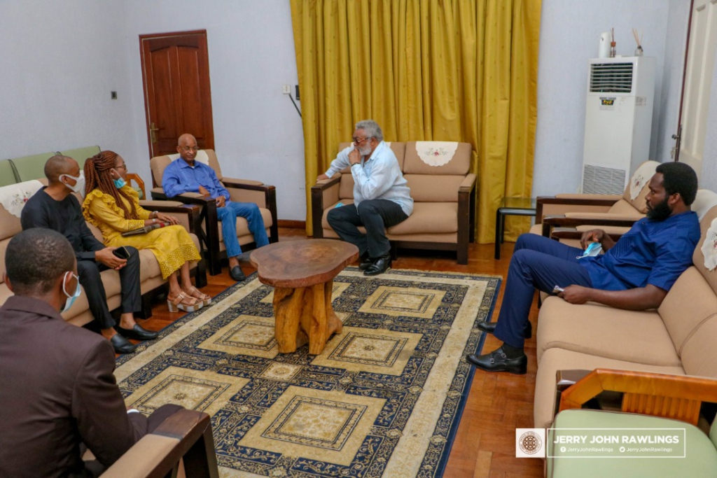Rawlings calls for a united Guinea, asks political actors to show leadership 3
