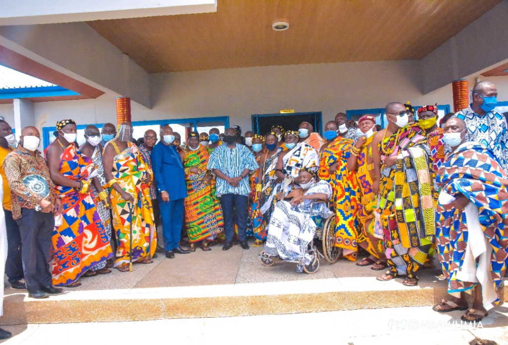 Thank you for giving us an identity - Oti Regional House of Chiefs to Akufo-Addo