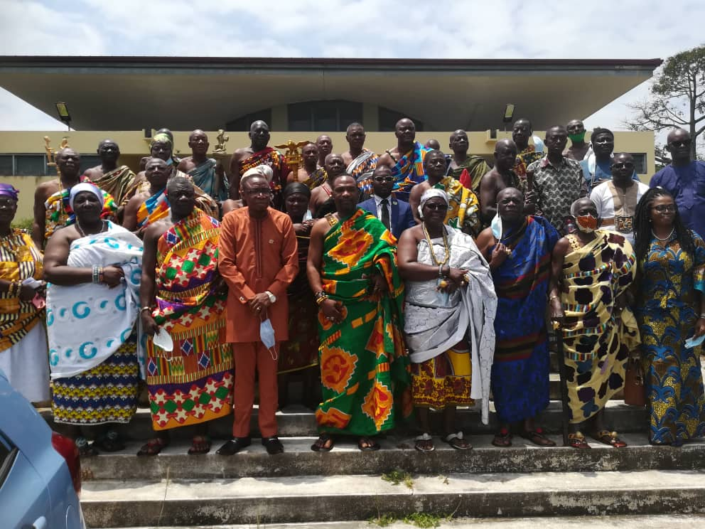 Central Regional House of Chiefs benefits from Covid-19 capacity-building workshop