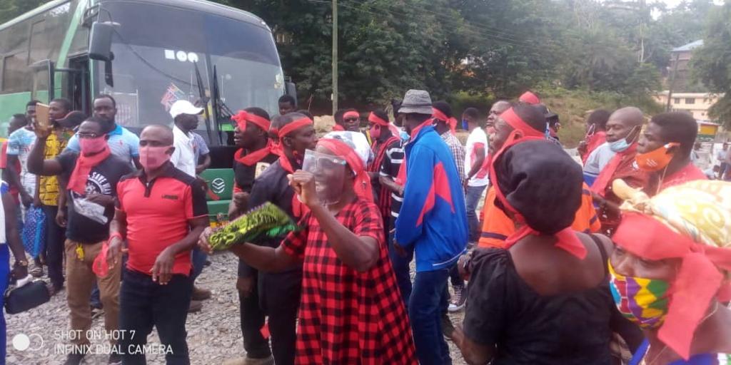 Reinstate Odeneho Akrofa Krukoko II as Paramount Chief of Wassa Fiase - Residents, chiefs demand amidst demonstration