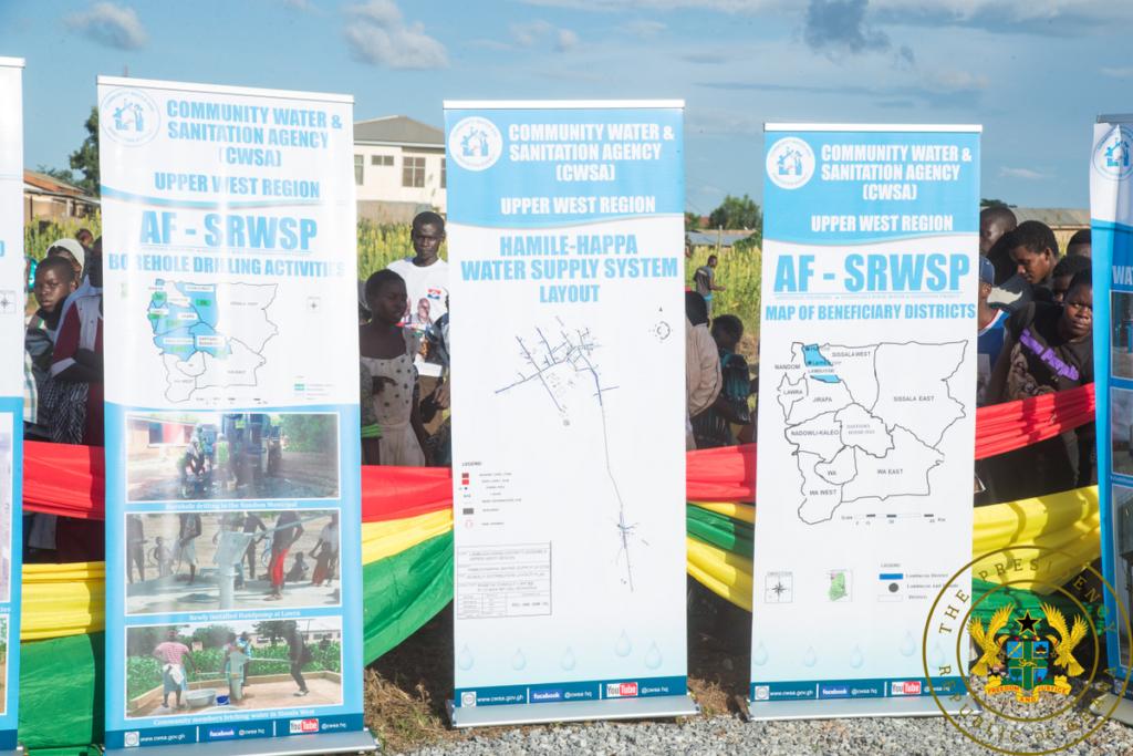 Akufo-Addo commissions ¢5.1m Hamile-Happa Water Supply Project