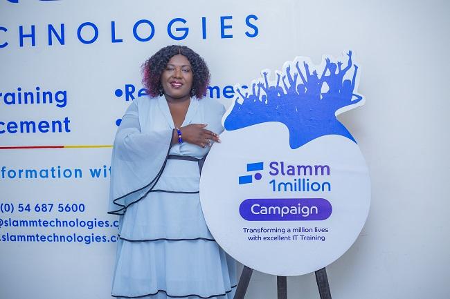 Slamm Technologies outdoors Slamm1million campaign to support IT training