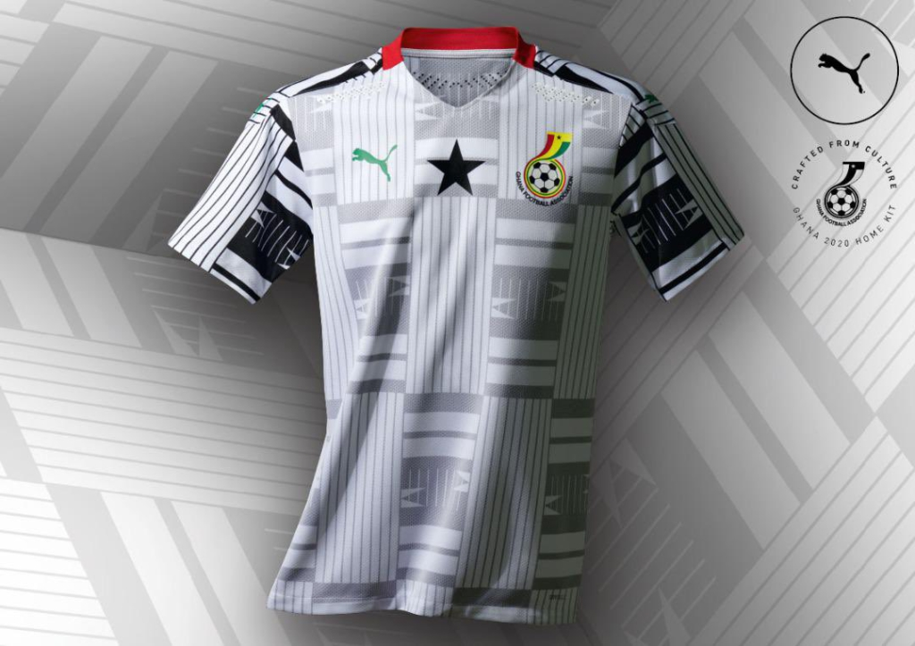 Puma releases official Black Stars jerseys