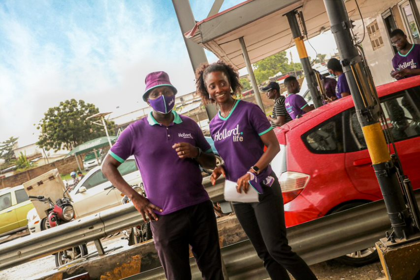 Hollard pays tolls for 20,000 motorists in Accra