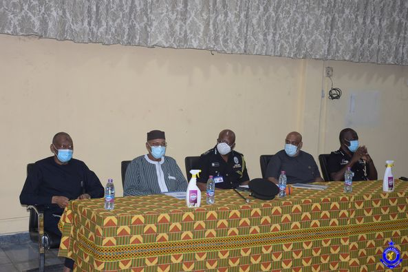 UN delegation pays courtesy call on Police service