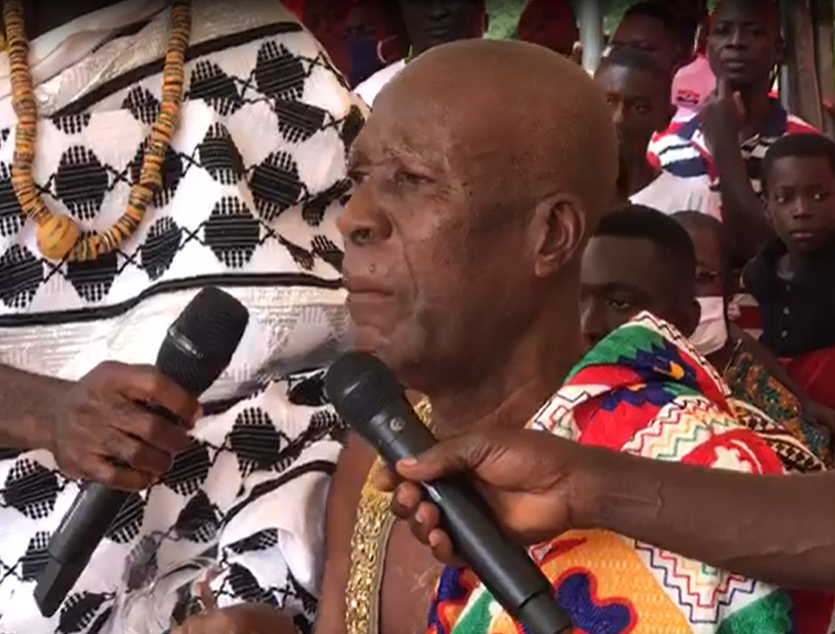Your first term of office has been positive - Nkonya Wurupong Chief tells Akufo-Addo