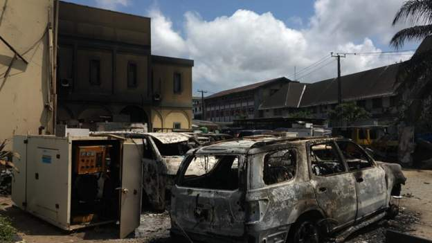 Lagos High Court set ablaze [Video] 2