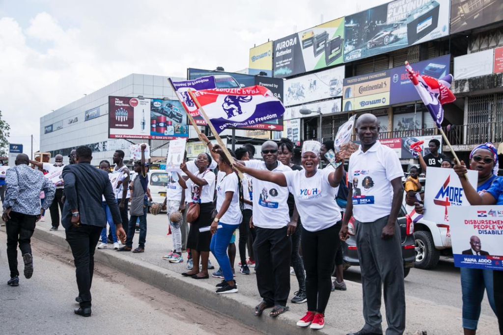 Kokompe spare parts dealers express support for a second term for Akufo-Addo
