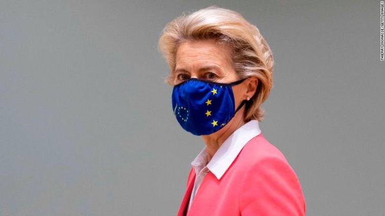 Ursula von der Leyen leaves EU summit after staffer tests