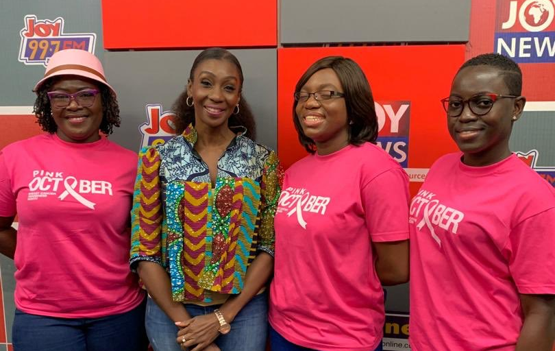 Joy FM's Cosmopolitan Mix launches Pink October for breast cancer awareness