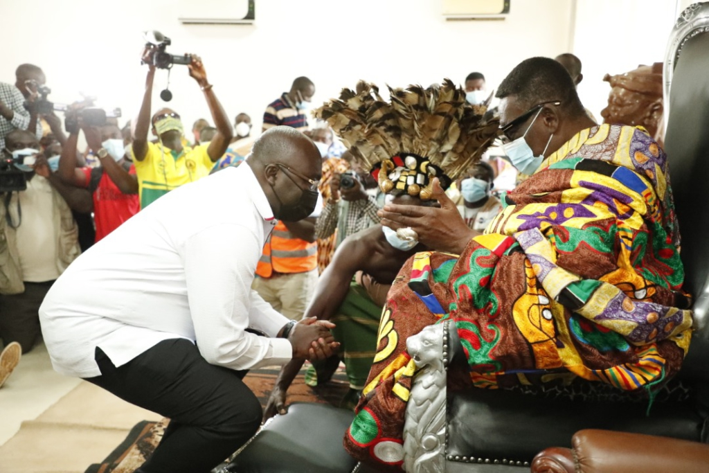 Bawumia depicts knowledge - Asante Mamponghene