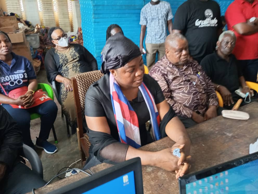 WhatsApp Image 2020 10 20 at 12.13.48 PM - Wife Of Late Mfantseman MP, Madam Ophelia Hayford Files Her Nomination To Contest(Photos)