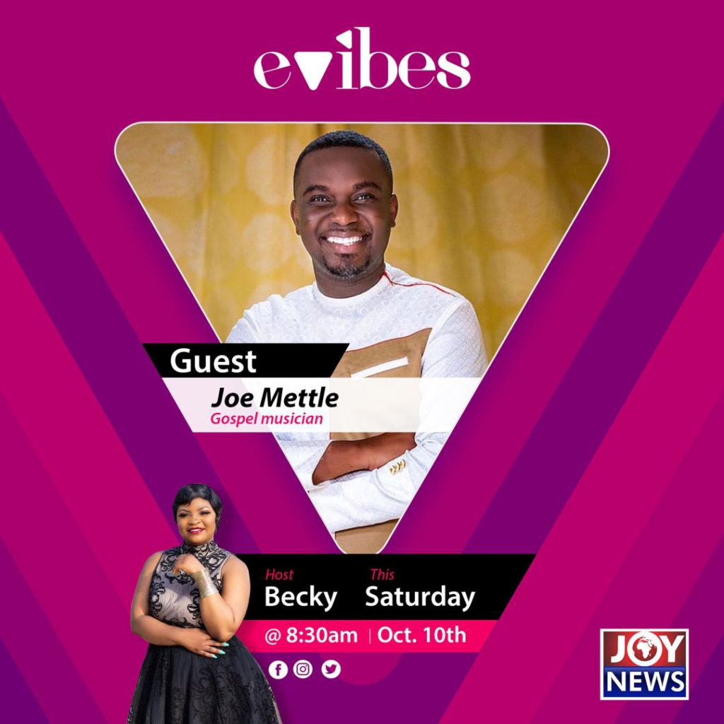 Evibes: My grandmother's 'susu' group mostly inspired my musical journey - Joe Mettle
