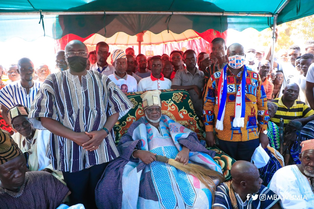 Dagbon will never forget Akufo-Addo and Bawumia for the peace we're enjoying - Naa Bakpem Mahama
