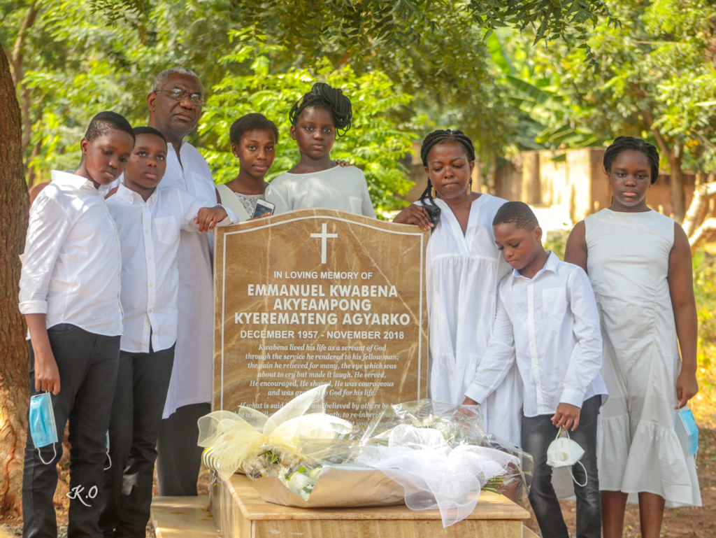 Lydia Alhassan, family remember the late Emmanuel Agyarko two years on
