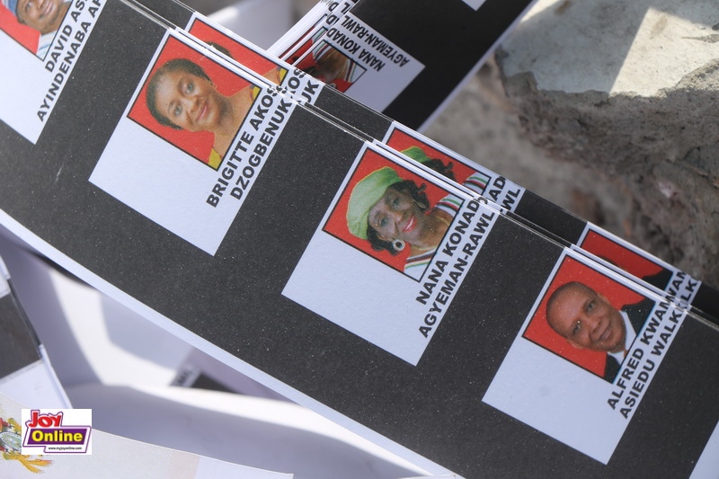 Photos: NDC witnesses burning of excess ballot papers 4