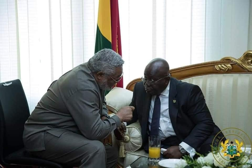 A great tree has fallen, Ghana is poorer for his loss - Akufo-Addo on Rawlings' death