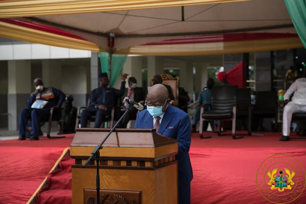 Akufo-Addo commissions 'Job 600' Annex building for Parliament