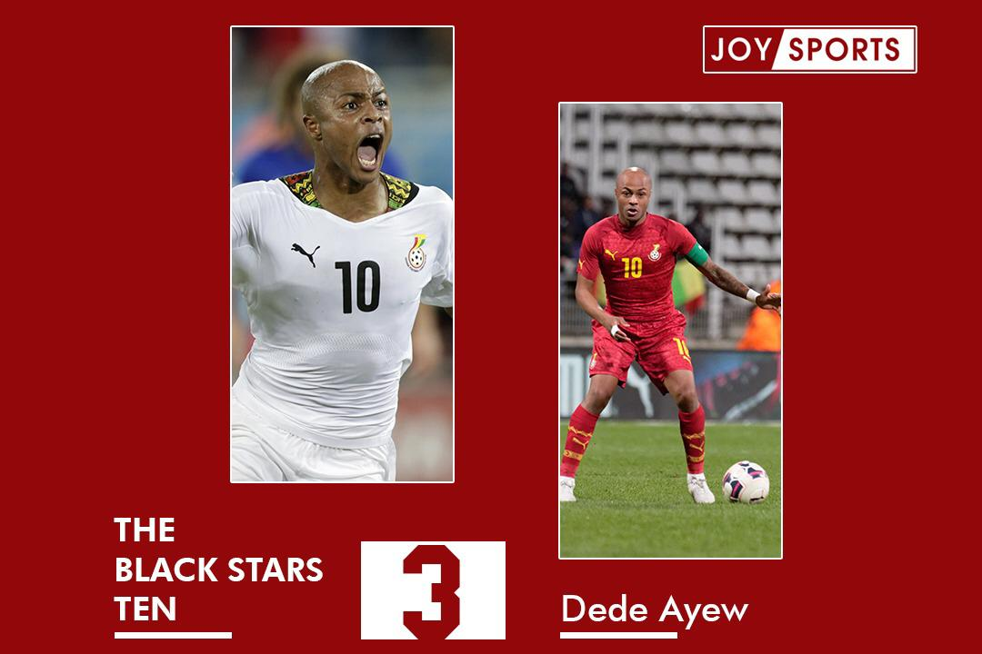 The Black Stars 10: No 3, Andre Ayew – A leader from scratch