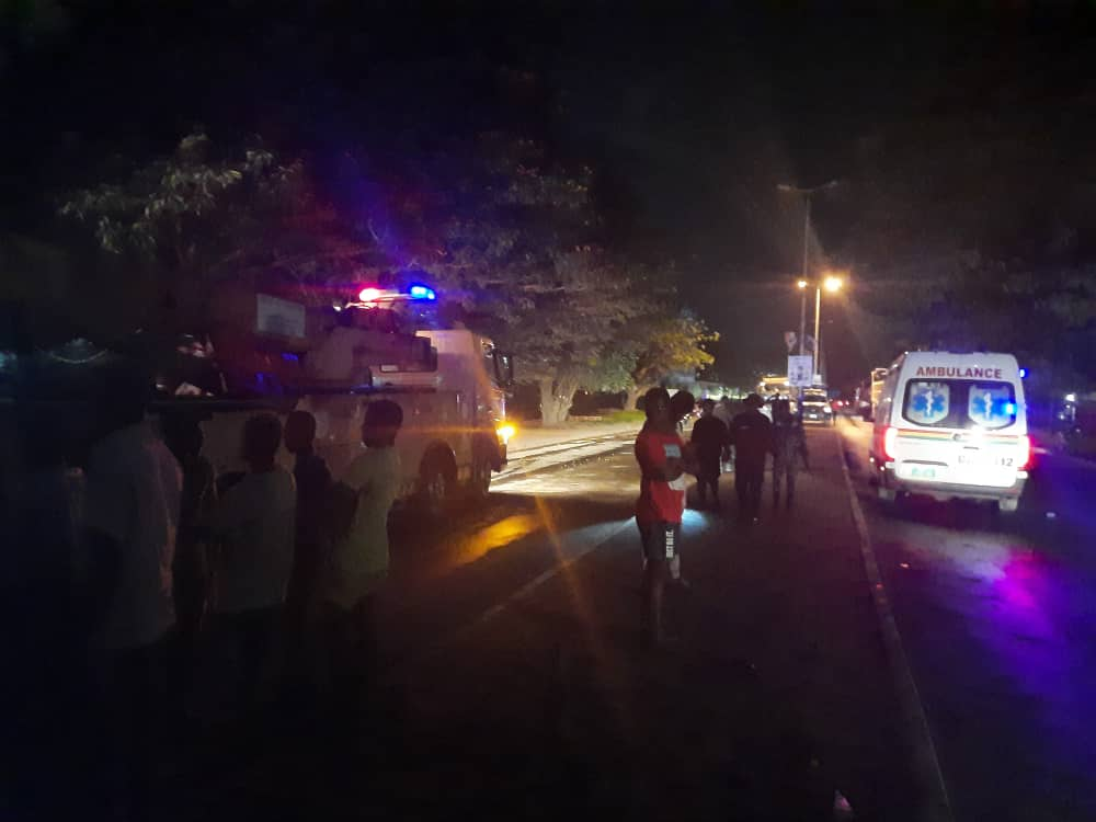 Two crashed to death by cocoa truck in Takoradi 3