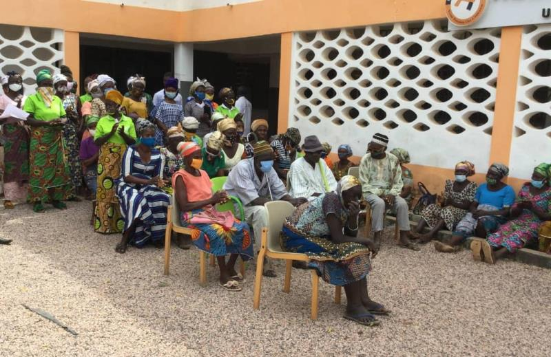PFAG distributes relief items to vulnerable farmers