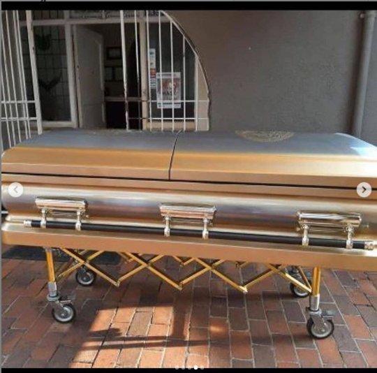Ginimbi versace casket