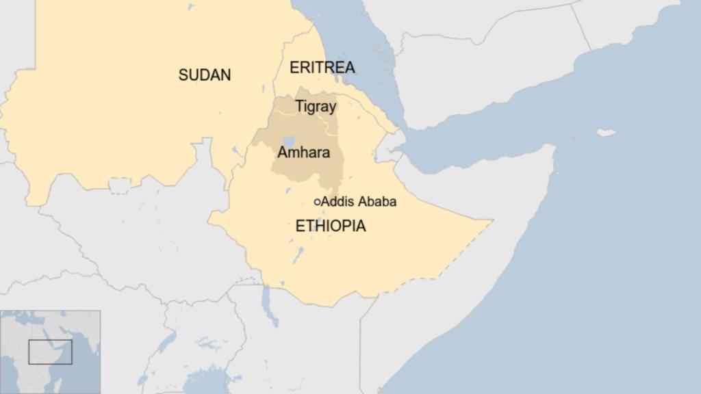 Ethiopia Tigray crisis: PM Abiy Ahmed accuses Tigrayan troops of massacre