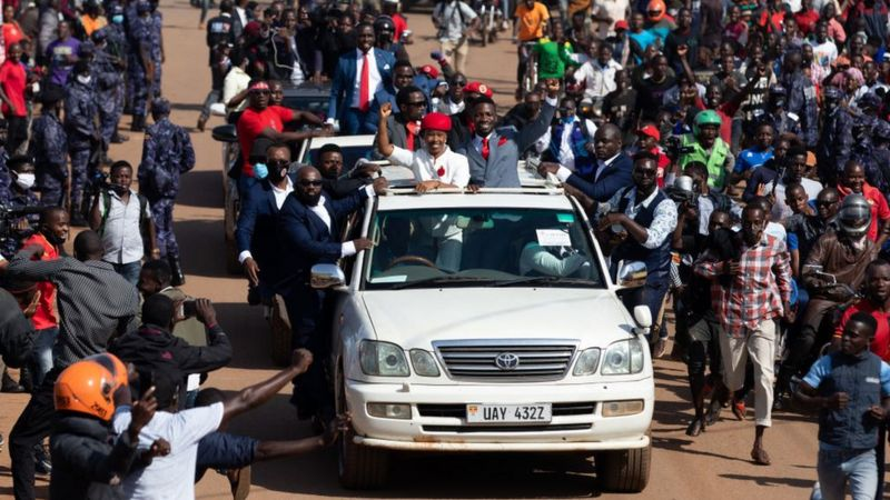 Bobi Wine's arrest sparks deadly Uganda protests. 48
