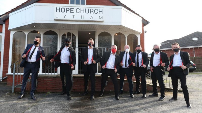Bobby Ball: Red braces tribute at comedian's funeral