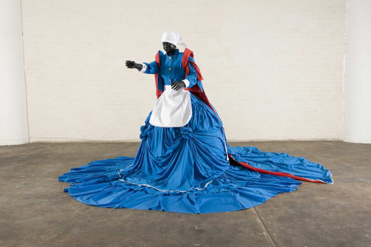 Mary Sibande re-imagines the story of South Africa's domestic workers