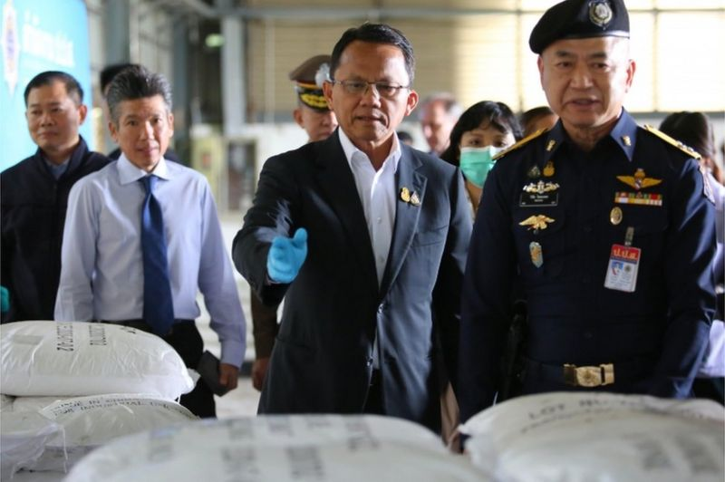 Thailand's 'largest ketamine bust' turns out to be cleaning agent
