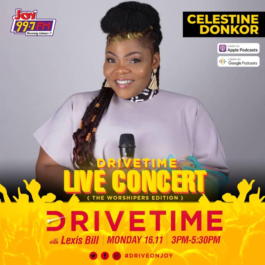 Celestine Donkor Drive Time worship