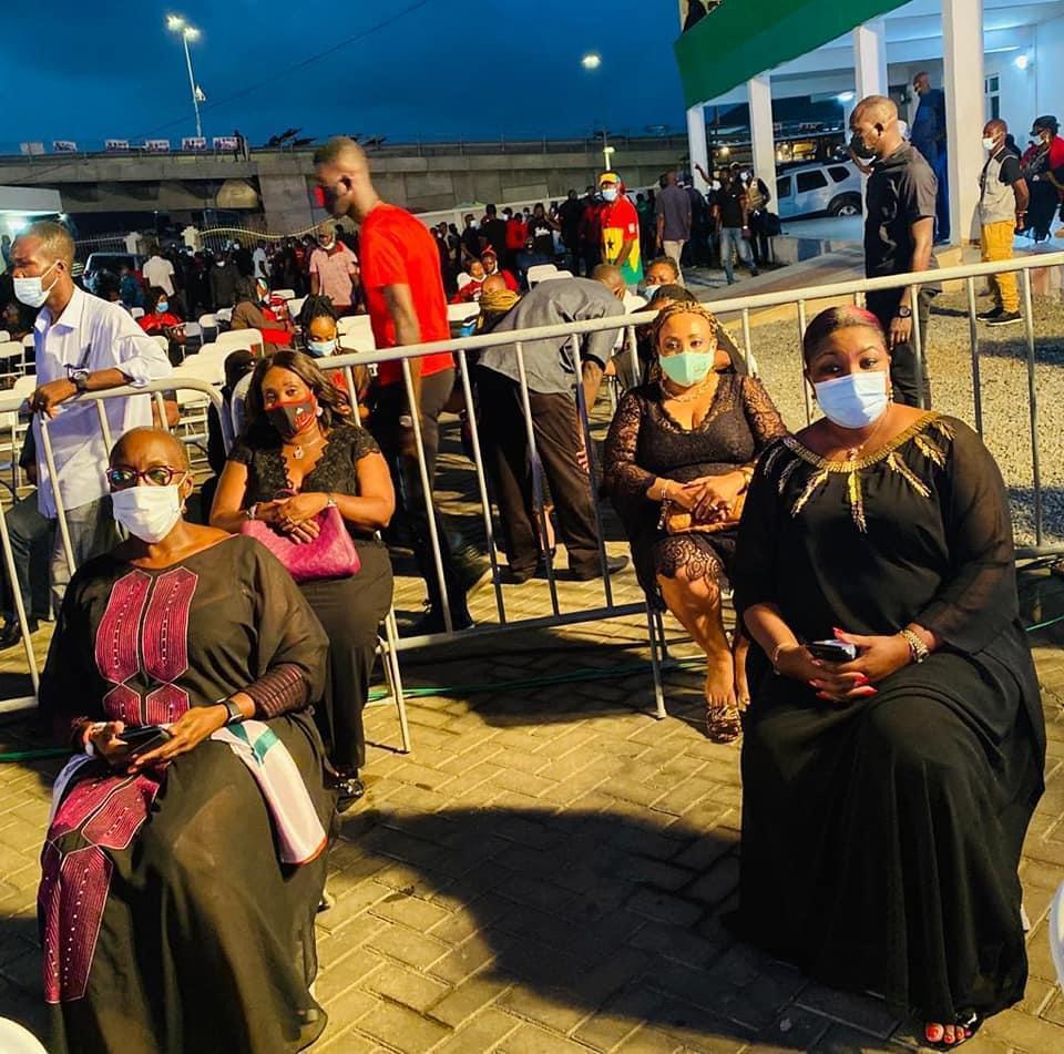 Photos from NDC's vigil in honour of Rawlings