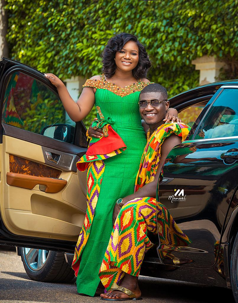 The radio and tv personality married his long time girlfriend, Esther Esime Siade, in a private ceremony on Thursday, November 19. | Adomonline.com