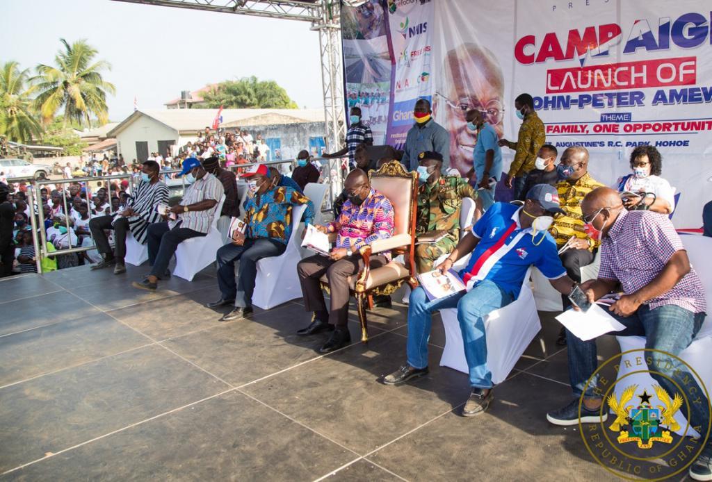 Volta Region has seen 'zero progress' under the NDC – Akufo-Addo