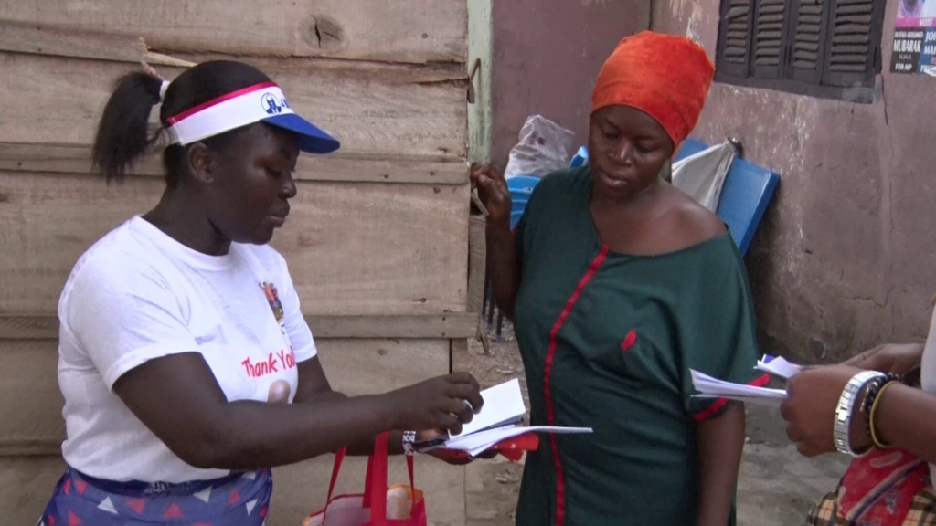 Free SHS beneficiaries lead NPP campaign at Asawase 2