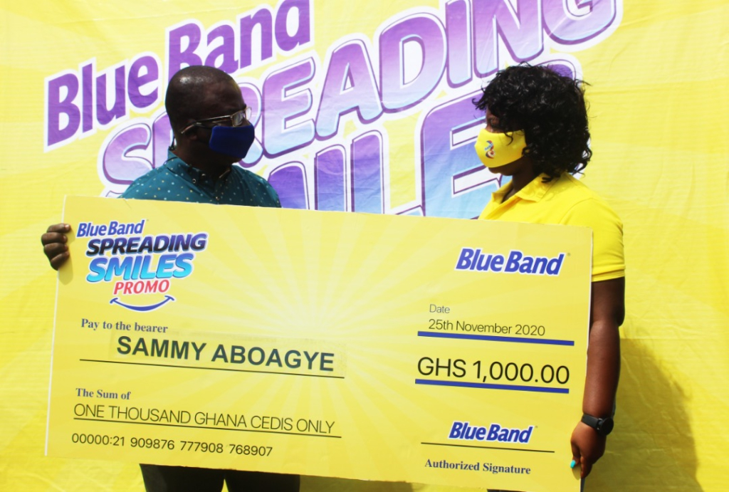 Blue Band kicks off its ¢100,000 'Spreading Smiles' initiative
