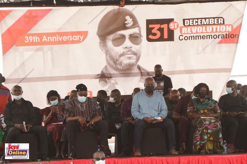 Mahama, NDC mark 39th Anniversary of 31st December Revolution [Photos] 3