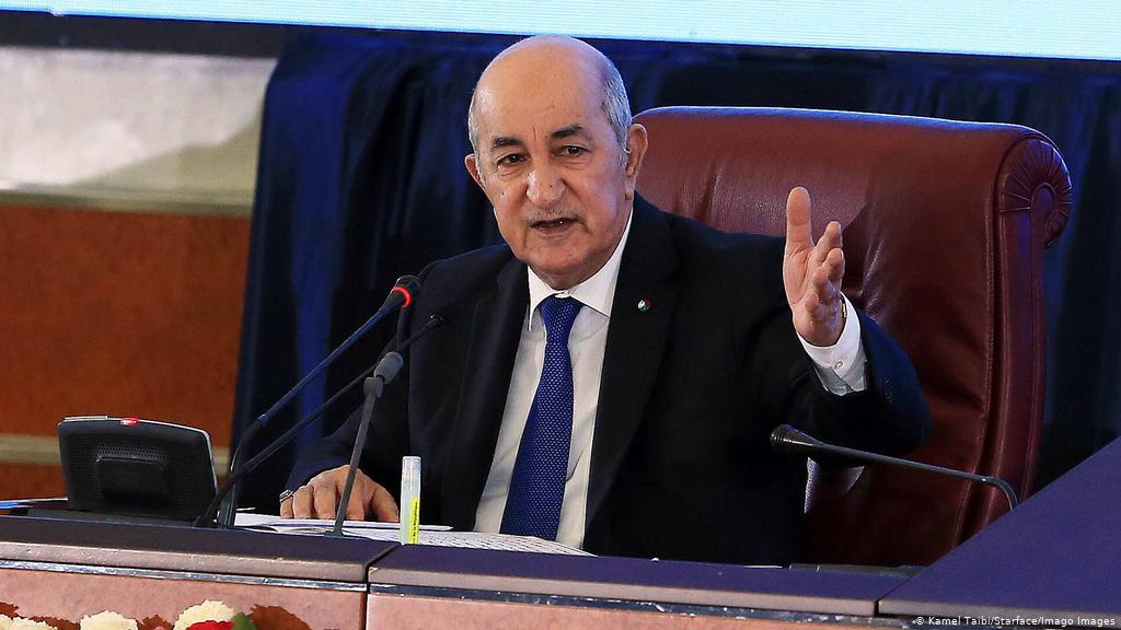 Algeria president in first TV appearance after Covid-19