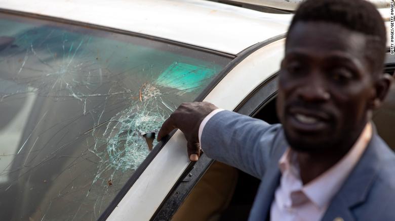 Uganda's Bobi Wine says his bodyguard was 'deliberately' run over and killed