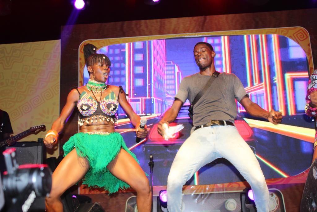 Wiyaala thrills fans at 'Taste of Ghana' festival
